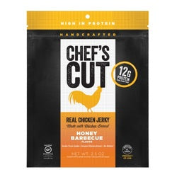 Chef's Cut Real Chicken Jerky Honey Barbeque (8x2.5 OZ)