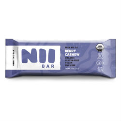 Nii Organic Berry Cashew Bar (12x1.8 OZ)