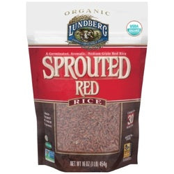 Lundberg Organic Sprouted Red Rice (6x1 LB  )