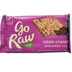 Go Raw Live Raisin Crunch Bar (10x0.49 OZ)