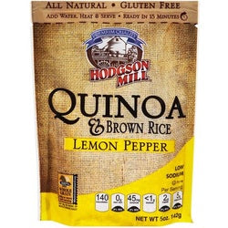 Hodgson Mill Quinoa & Brown Rice Lemon Pepper (6x5 OZ)