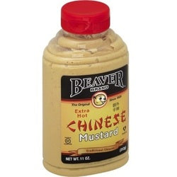 Beaver Extra Hot Chinese Mustard (6x11 OZ)