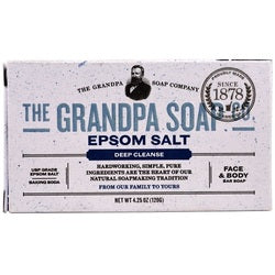 Grandpa's Epsom Salt Bar Soap  (1x4.25 OZ)