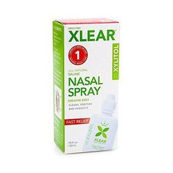 Xlear Sinus Nasal Spray with Xylitol (12x0.75 OZ)