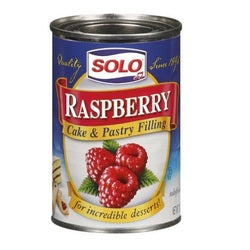 Solo Cake & Pastry Filling Raspberry (12x12 OZ)