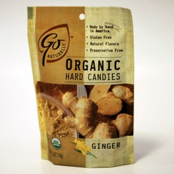 Go Naturally Ginger Hard Candy (6x3.5OZ )