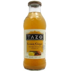 Tazo Rtd Lemon Ginger (12x13.8OZ )