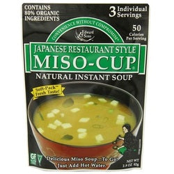 Edward & Sons Japanese Miso Cup (6x2.9OZ )