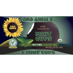 Sun Cups Dark Chocolate Mint (12x1.5OZ )