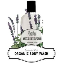 Nourish Body Wash Lavendar Mnt (1x10OZ )
