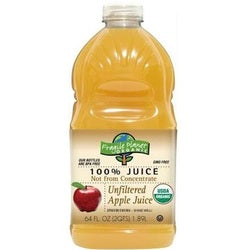Fragile Planet Organic Apple Unfltr Juice (8x64OZ )