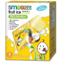 Smooze Fruit Ice Cnut/Pineap (12x17.6OZ )