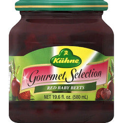 Kuhne Gourmet Red Baby Beets (12x19.6 OZ)