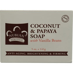 Nubian Heritage Coconut Papaya Soap (1x5OZ )