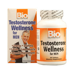 Bio Nutrition Testosterone Wellness for Men (1x60 Tablets)
