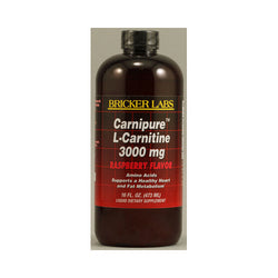 Bricker Labs Carnipure L-Carnitine Raspberry 3000 mg (16 fl Oz)
