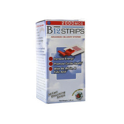 Essential Source B12 Strips with B6 and Biotin (1x30 Count)