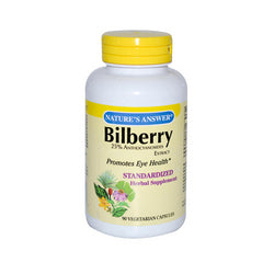 Nature's Answer BiLberry Extract (90 Veg Capsules)