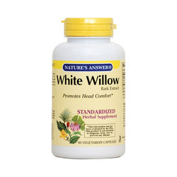 Nature's Answer White Willow Bark Standardized (60 Veg Caps)