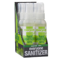 EO Products Hand Sanitizer Spray Everyone Ppprmnt Dsp (6x2 FZ)