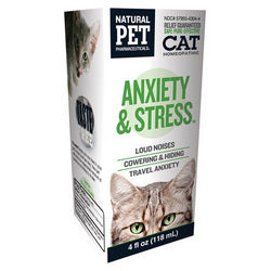 King Bio Homeopathic Natural Pet Cat Anxiety and Stress (1x4 Oz)