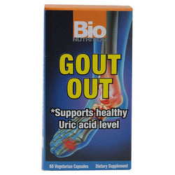 Bio Nutrition Gout Out (60 Veg Capsules)