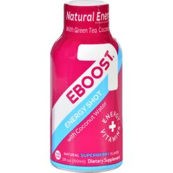 Eboost Shot Counter Display  Superberry  2 oz  Case of 12
