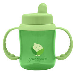 Green Sprouts Sippy Cup Flip Top Green (1 Count)