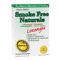 Three Lollies Smoke Free Natural Lozenges 12 Count
