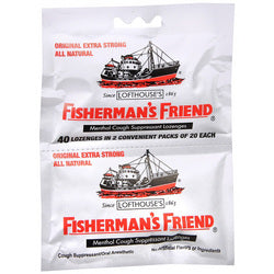 Fisherman's Friend Lozenges Original Extra Strong Dsp (12x40 Count)