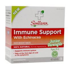 Similasan Immune Support Echinacea Junior Strength Age 6 11 (1x40 ct)