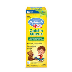 Hylands Homepathic Cold 'n Mucus 4 Kids (4 fl Oz)
