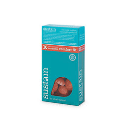 Sustain Condoms Comfort Fit (1x10 Count)