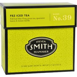 Smith Teamaker Iced Tea  Big Hibiscus  Case of 6  10 Bags