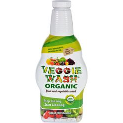 Citrus Magic Veggie Wash  Organic  Soaking Size Bottle  32 oz