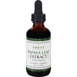 Bio Nutrition Inc Papaya Leaf Extract  Smart Organics  2 oz