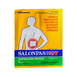 Salonpas Capsicum Patch Hot Pack