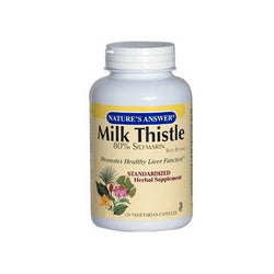Nature's Answer Milk Thistle Seed Extract (120 Veg Capsules)