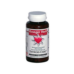 Kroeger Herb Thyroid Care (100 Capsules)