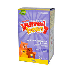 Hero Nutritionals Yummi Bears DHA 90 Gummy Bears
