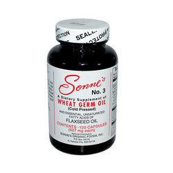 Sonne's No. 3 Wheat Germ Oil 627 mg (1x120 Caps)