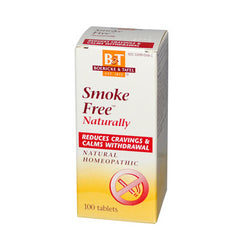Boericke and Tafel Smoke Free Naturally (1x100 Tablets)