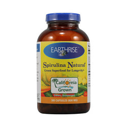 Earthrise Spirulina Natural 600 mg (1x300 Capsules)