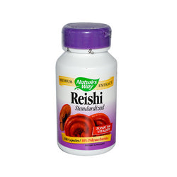 Nature's Way Reishi Standardized (100 Capsules)