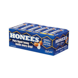 Honees Milk and Honey Filled Drops (24 Pack) 1.5 Oz