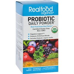 Realfood Organics Probiotic Daily Powder  Organic  3.1 oz