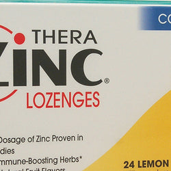 Quantum TheraZinc Cold Season Plus Lozenges Lemon 14 mg (1x24 Lozenges)