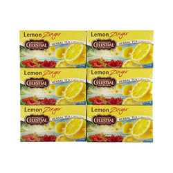 Celestial Seasonings Lemon Zinger Herb Tea (1x20 Bag)