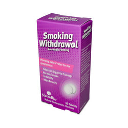 NatraBio Smoking Withdrawl Non-Habit Forming 60 Tablets