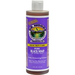 Dr. Woods Pure Black Soap  16 fl oz